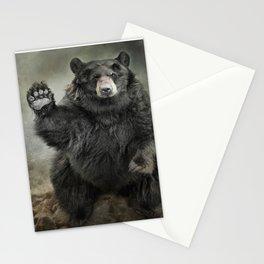 Black Bear Greeting Stationery Cards
