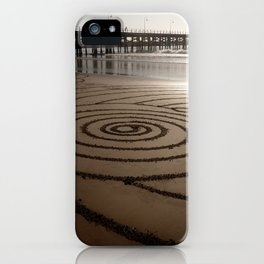 Concentric Spiral iPhone Case