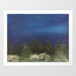 Starry Night - Pure Nature Art Print
