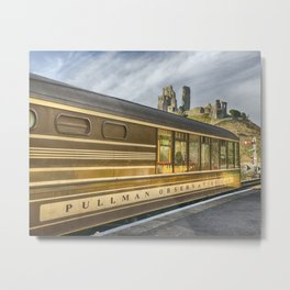 Pullman Observation Car Metal Print
