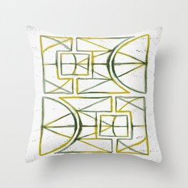 Hexacult Throw Pillow