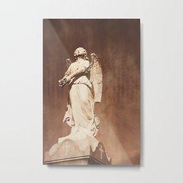 An Angel Gets Her Wings Metal Print