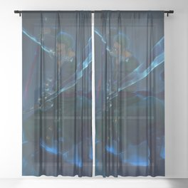 Roronoa Zoro One Piece Sheer Curtain