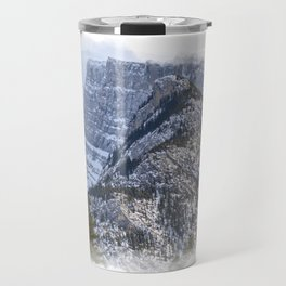 Mt Rundle & Raven (Canadian Rockies) Travel Mug