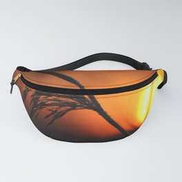 Good Morning Sun Winter Scene #decor #society6 Fanny Pack