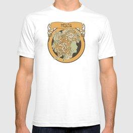 medusa silhouette (light) T-shirt
