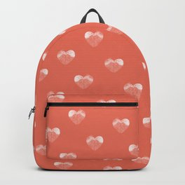 Love birds sitting on a tree Backpack