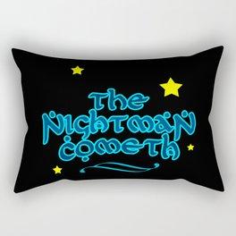 The Nightman Cometh Rectangular Pillow