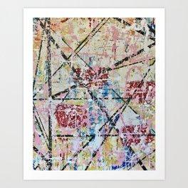 Crossroads No.3 Art Print