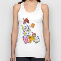digimon Tank Tops featuring Digimon Adventure Partners by Jelecy