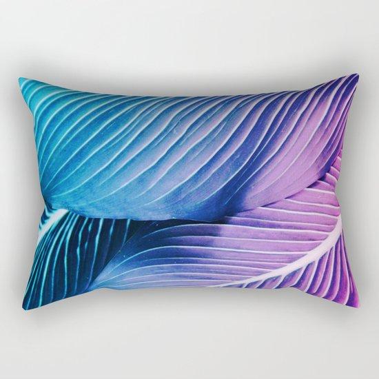 Tropical Foliage Rectangular Pillow