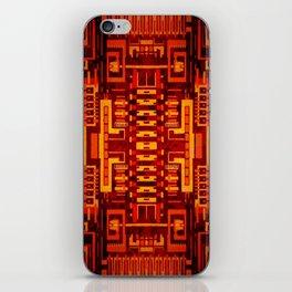 Circuit board v6 iPhone Skin