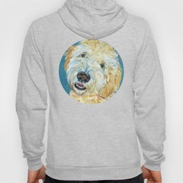 Stanley the Goldendoodle Dog Portrait Hoody