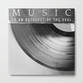 Outburst Metal Print