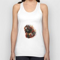 winter soldier Tank Tops featuring Winter Soldier by ururuty