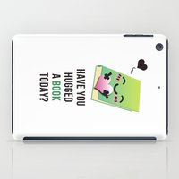 emoji iPad Cases featuring Book Emoji Love by Bookiemoji