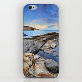 """Volcanic sea"". Cabo de Gata. iPhone Skin"