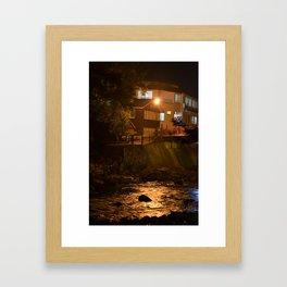 A River View Room Framed Art Print