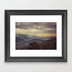 Annapurna Foothills. Framed Art Print