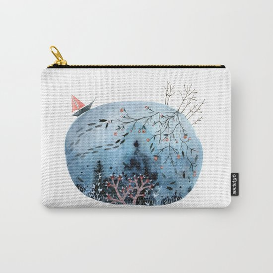 BRIDGES AND BALLOONS Carry-All Pouch