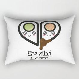 Sushi Love Rectangular Pillow