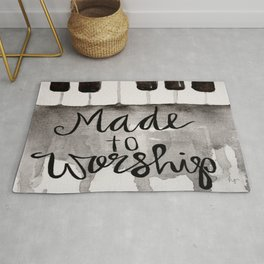 Made To Worship  Rug