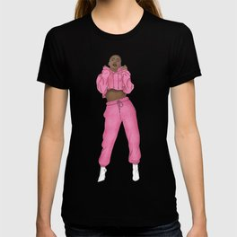 The Cool Chick Fashion IIlustration T-shirt