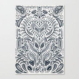 Folklore Pattern 3 Canvas Print