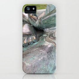 Sacred Hand and Foot by Mandy Ramsey, Haines, Alaska iPhone Case