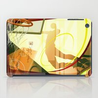 basketball iPad Cases featuring Basketball by Robin Curtiss