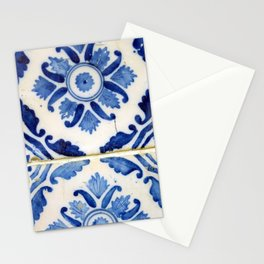 Portuguese tile 3 Stationery Cards