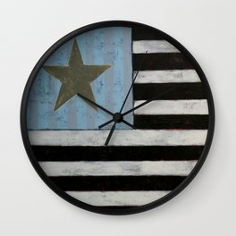 Star Flagger Wall Clock