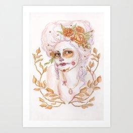 Día de los Muertos - Antoinette Art Print