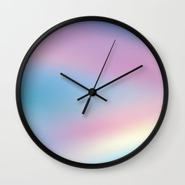 Defocused Holographic Background Wall Clock