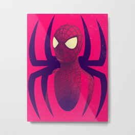 The Wall Crawler Metal Print