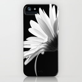 Flower BW iPhone Case