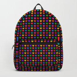 Sweet heart Pattern Backpack