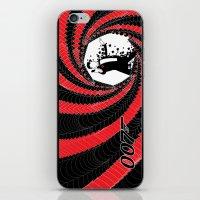 james bond iPhone & iPod Skins featuring James Bond Casino Royale by Kozmanaut