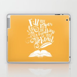 The Breathings of Your Heart Laptop & iPad Skin