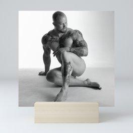 Male Nude Squared Pt.3 Mini Art Print