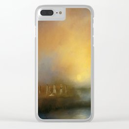 Monoliths - Who Were We Clear iPhone Case