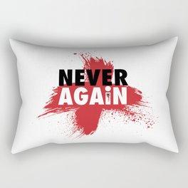 Never Again Rectangular Pillow