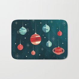 Joy to the Universe (in Teal) Bath Mat