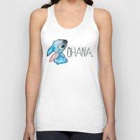 ohana Tank Tops featuring Ohana by hcase