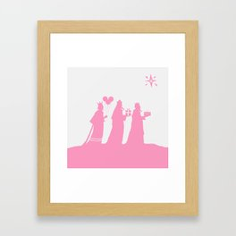 Happy Birthday Jesus Framed Art Print