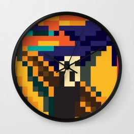 pixescream Wall Clock