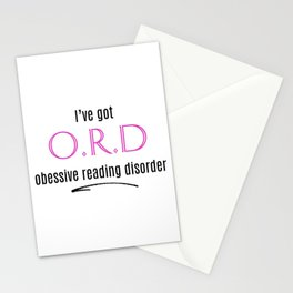 O.R.D. Stationery Cards