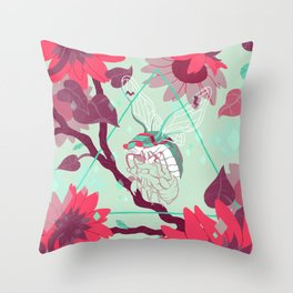Warmth (Cool) Throw Pillow