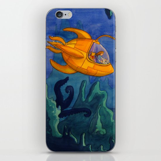 Deep Sea Adventure iPhone & iPod Skin
