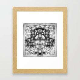 Ritual Eye Framed Art Print